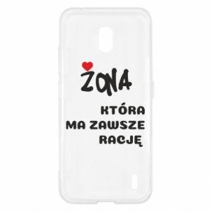 Etui na Nokia 2.2 Żona, która ma zawsze rację