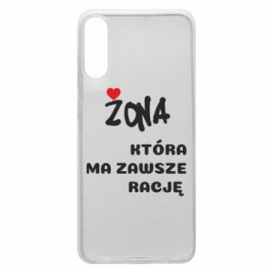 Phone case for Samsung A70 A wife who is always right - PrintSalon