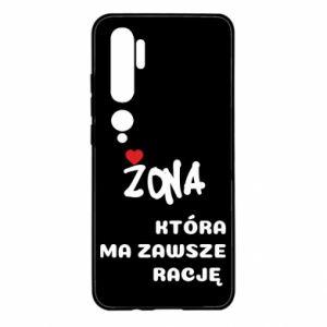 Etui na Xiaomi Mi Note 10 Żona, która ma zawsze rację