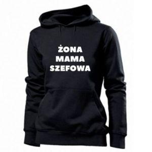 Damska bluza Żona Mama Szefowa napis
