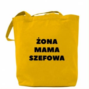 Torba Żona Mama Szefowa napis