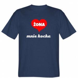 Koszulka Żona mnie kocha