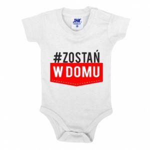 Baby bodysuit Stay home