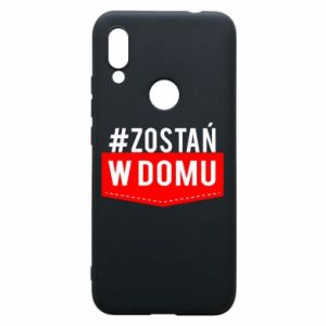 Phone case for Xiaomi Redmi 7 Stay home