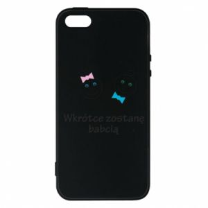 Phone case for iPhone 5/5S/SE Zostanę babcią