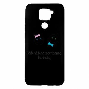 Etui na Xiaomi Redmi Note 9/Redmi 10X Zostanę babcią