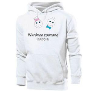 Men's hoodie Zostanę babcią