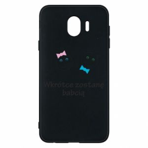 Phone case for Samsung J4 Zostanę babcią