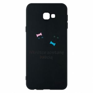 Phone case for Samsung J4 Plus 2018 Zostanę babcią