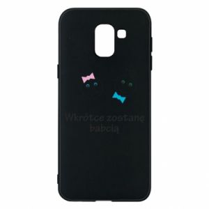 Phone case for Samsung J6 Zostanę babcią