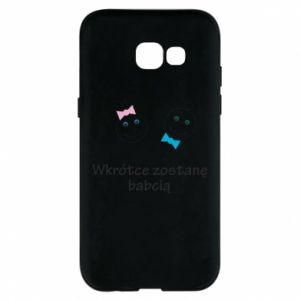 Phone case for Samsung A5 2017 Zostanę babcią