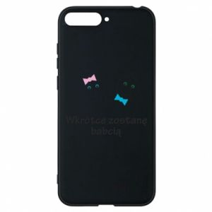 Phone case for Huawei Y6 2018 Zostanę babcią