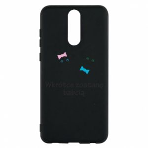 Phone case for Huawei Mate 10 Lite Zostanę babcią
