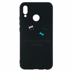 Phone case for Huawei P20 Lite Zostanę babcią