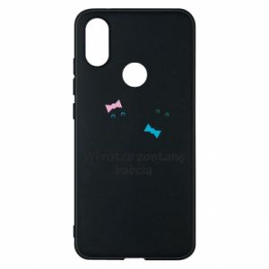 Phone case for Xiaomi Mi A2 Zostanę babcią