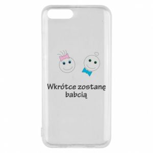 Phone case for Xiaomi Mi6 Zostanę babcią