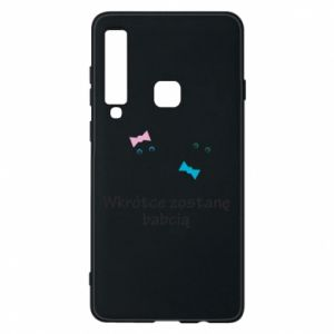 Phone case for Samsung A9 2018 Zostanę babcią