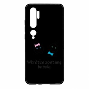 Etui na Xiaomi Mi Note 10 Zostanę babcią