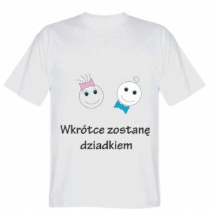 Koszulka Zostanę dziadkiem