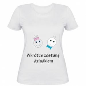 Women's t-shirt Zostanę dziadkiem