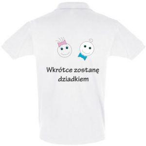 Koszulka Polo Zostanę dziadkiem