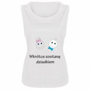 Damska koszulka Zostanę dziadkiem - PrintSalon