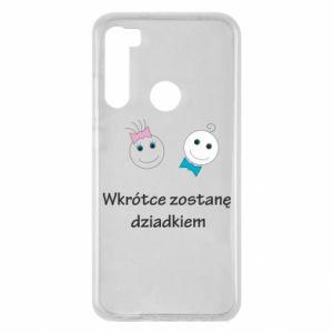 Xiaomi Redmi Note 8 Case Zostanę dziadkiem