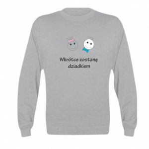 Bluza dziecięca Zostanę dziadkiem