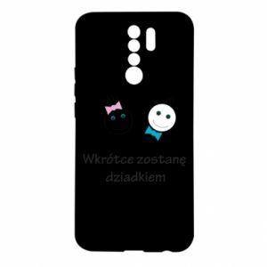 Etui na Xiaomi Redmi 9 Zostanę dziadkiem
