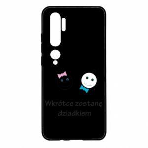 Etui na Xiaomi Mi Note 10 Zostanę dziadkiem