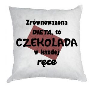 Pillow A balanced diet... - PrintSalon