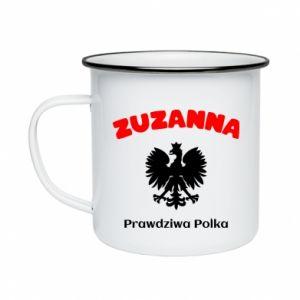 Enameled mug Susan is a real Pole - PrintSalon
