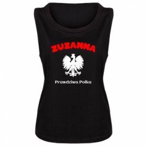 Women's t-shirt Susan is a real Pole - PrintSalon