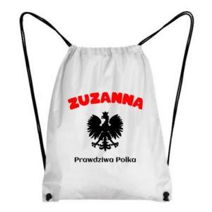Plecak-worek Zuzanna jest prawdziwą Polką