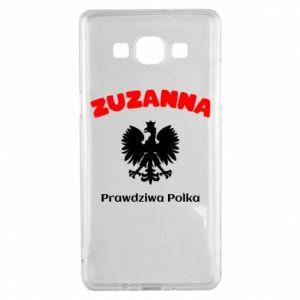 Phone case for Samsung S10+ Susan is a real Pole - PrintSalon