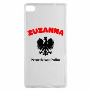 Phone case for Huawei P10 Lite Susan is a real Pole - PrintSalon