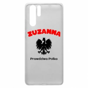 Phone case for Huawei P20 Susan is a real Pole - PrintSalon