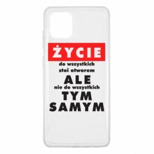Samsung Note 10 Lite Case Life