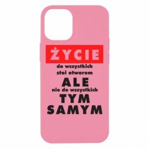 Etui na iPhone 12 Mini Żyćie