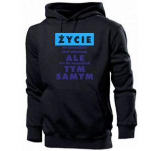 Men's hoodie Life