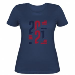 Women's t-shirt Wishes for the New Year