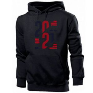 Men's hoodie Wishes for the New Year