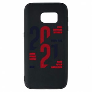Phone case for Samsung S7 Wishes for the New Year