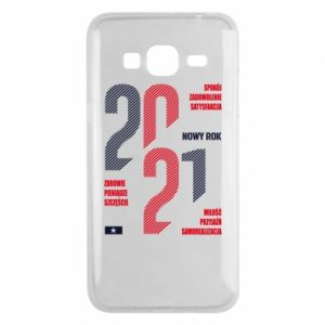 Phone case for Samsung J3 2016 Wishes for the New Year