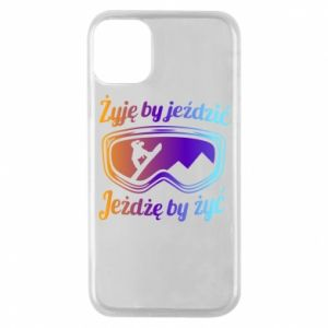 Phone case for iPhone 11 Pro I live to ride
