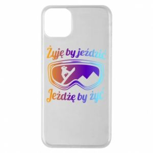 Phone case for iPhone 11 Pro Max I live to ride