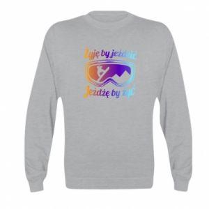 Kid's sweatshirt I live to ride