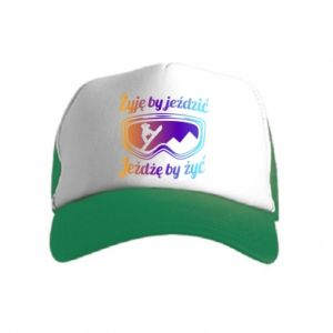 Kid's Trucker Hat I live to ride
