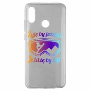 Huawei Honor 10 Lite Case I live to ride