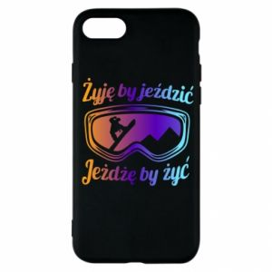 iPhone SE 2020 Case I live to ride